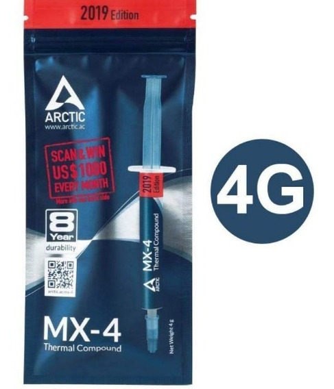 Pasta Termica Artic Mx-4 Pclaptop Gpu 14caimanes Aragua Mcy