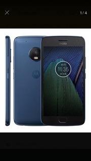 Celular Motorola G5 Plus Azul. Excelente Condiciones
