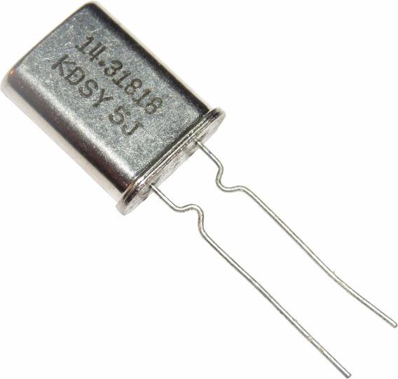 Cristal Oscilador 14.31818 Mhz Hc-49u Kit C/ 10 Pçs.