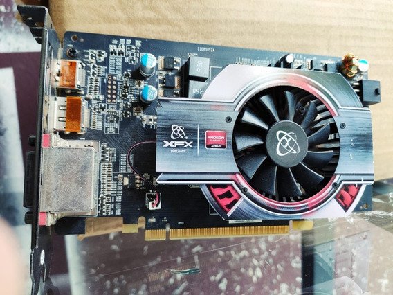 Placa De Vídeo Vga Xfx Radeon Hd 6770 1gb Ddr3 Pci-express