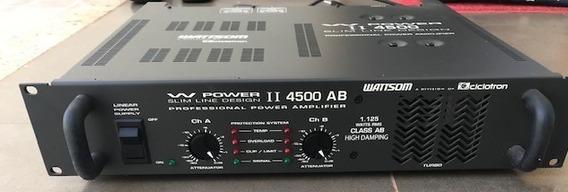 Amplificador Ciclotron Wpower4500