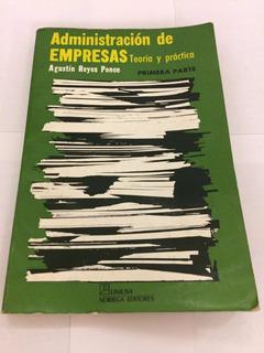 Libro - Administración De Empresas, Teoría Y Práctica
