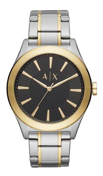 Relógio Armani Exchange Masculino Bicolor Ax2336/1kn