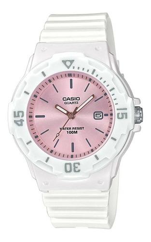Reloj Casio Mujer Lrw-200h Analogo 2 Años De Garantia
