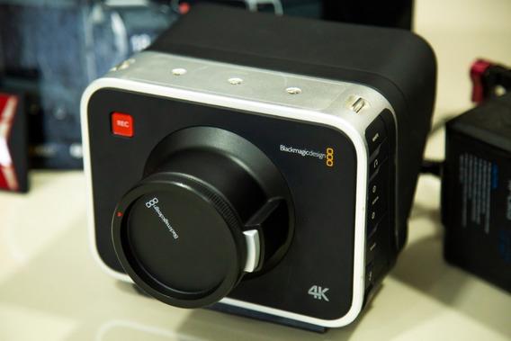 Blackmagic Camera 4k Na Caixa + Ssd + Bateria + Conv. Hdmi