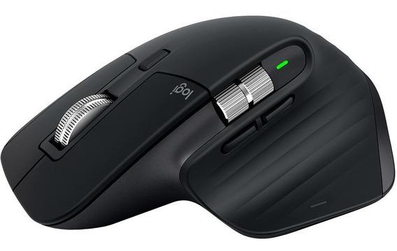 Mouse Sem Fio Logitech Mx Master 3s Bluetooth Flow 4000dpi