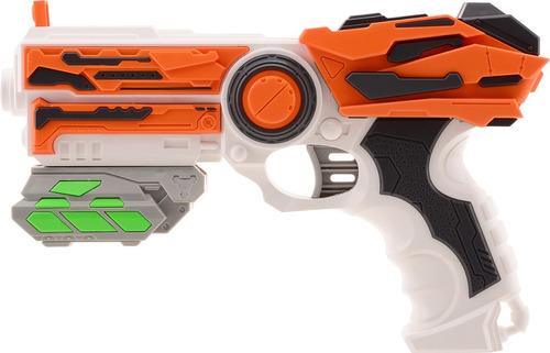 Pistola Lanza Dardo Tipo Nerf Tack Pro Crow 2 23cm 31003 Edu
