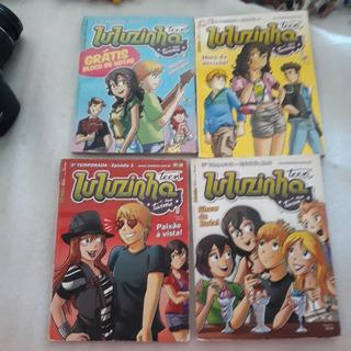 Revistas Luluzinha Teen Lote Com 4 Hqs
