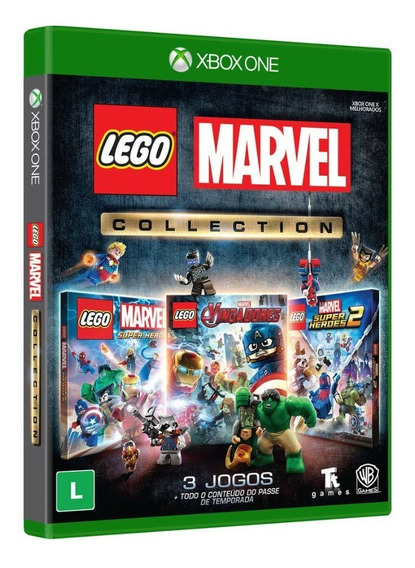 Game Xbox One Lego Marvel Collection Pix90