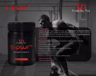 T Health Te Da El Poder 20 Capsulas Tpower Mx