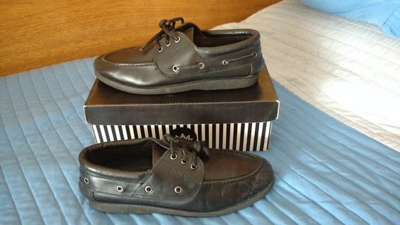 Zapatos Escolares Simil Marcel Kikers Nro 40 Plantilla 26 Cm