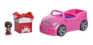 Gift Ems Muñeca Sorpresa Auto Rosa Figura Accesorios Jyj Edu