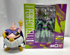 S.h Figuarts Bandai Dragon Ball Z - Perfect Cell + Majin Boo