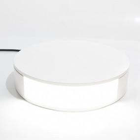 Base Giratória Com Iluminação- Fotos E Vídeos - Suporta 30kg