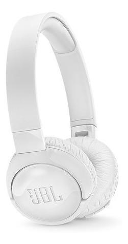 Fone De Ouvido Jbl Tune 600bt Nc T600bt Original Nf Branco