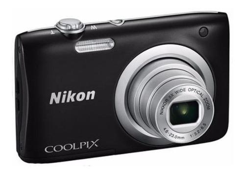 Câmera Nikon Coolpix A100 Compacta 20.1 Mp Zoom Ler Descriça