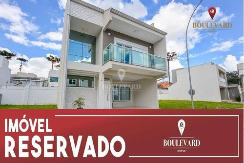 Imagem 1 de 30 de Casa À Venda, 222 M² Por R$ 970.000,00 - Uberaba - Curitiba/pr - Ca0088
