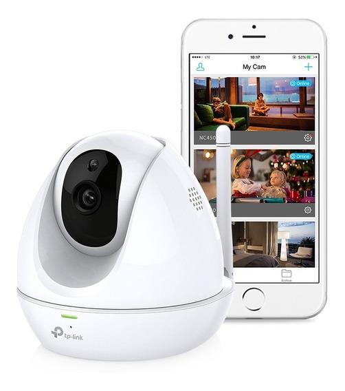 Câmera De Segurança Wifi 300mbps Tp-link Nc450 Visão Noturna
