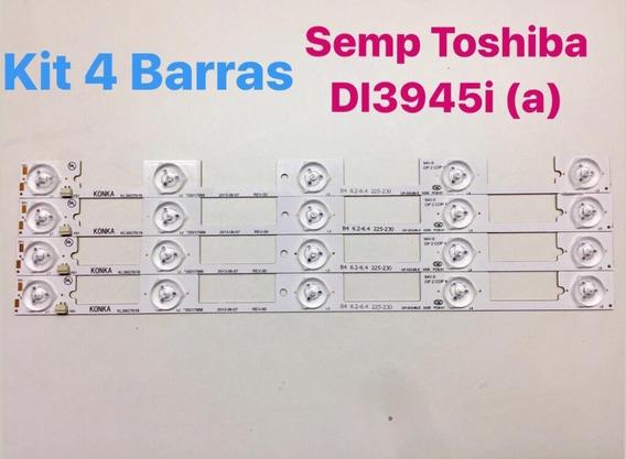 Kit Barra De Led Tv Semp Toshiba Dl3945 Kl39gt618 *testada*