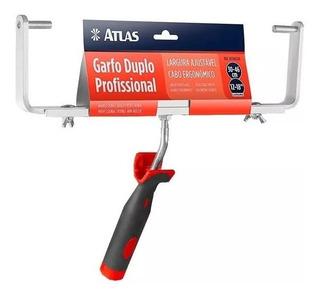Garfo Duplo Ajustável 30 A 46cm P/rolo Rende Plus E Antigota