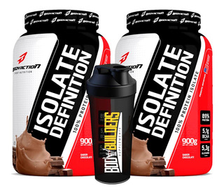 Combo 2x Whey Isolate Isolado Definition 900g - Body Action