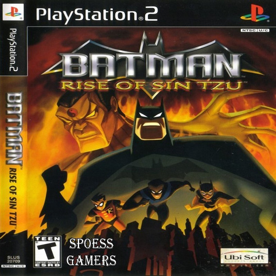 Batman Rise Of Sin Tzu Ps2 Desbloqueado Patchs