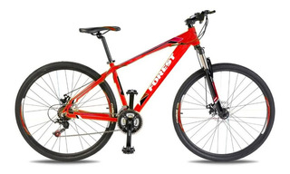 Bicicleta Mountain Bike Forest Rod 27 Alu 21v Bloqueo Cuotas