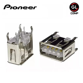 Conector Usb Pioneer Original Deh Mixtrax Kit 40 Pçs - Carta