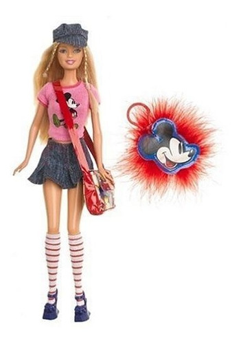 Imagen 1 de 3 de Barbie Ama A Mickey Mouse