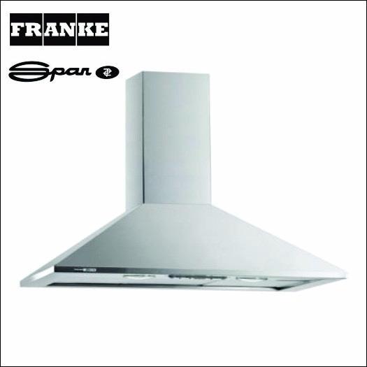 Campana Spar Franke Prima Deslizante 60 Cm Sin Uso!!