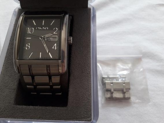 Reloj Dkny Original Caballero Acero Inoxidable Oferta!