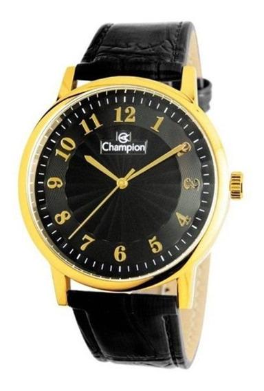 Relógio Masculino Champion Analógico Cn20560p - Dourada