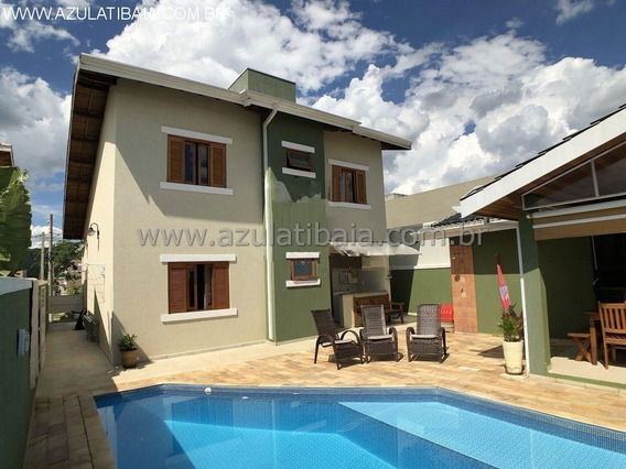 Sobrado Alto Padrão Condomínio Terras De Atibaia - Ca00686 - 34689213