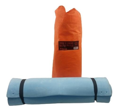 Saco De Dormir Camping Solteiro 192x75cm Usado