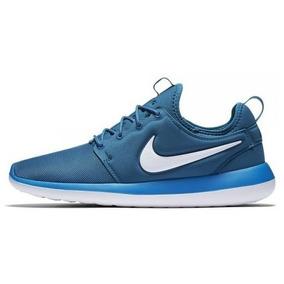 Tenis Nike Roshe Two Casual Azul Original