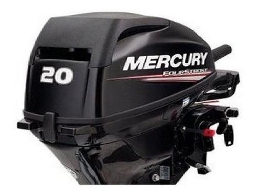 Imagen 1 de 13 de Motor Fuera De Borda Mercury 20 Hp 4 Tiempos Garantia Tanque