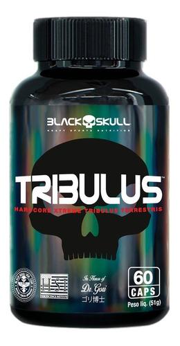 Tribulus Terrestris 60 Cápsulas 500mg - Black Skull