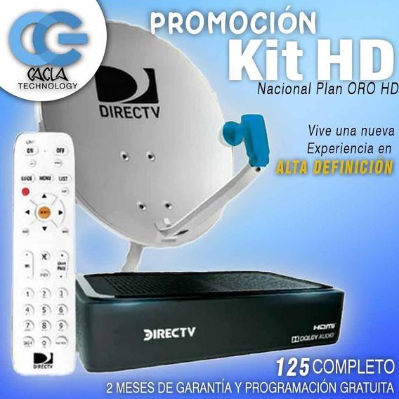 Kit Directv Decodificador Hd Prepago / Tienda Física (75v)