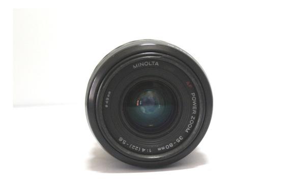 Lente Minolta 35-80mm 4-5.6 Retro Coleção Retirada De Peça