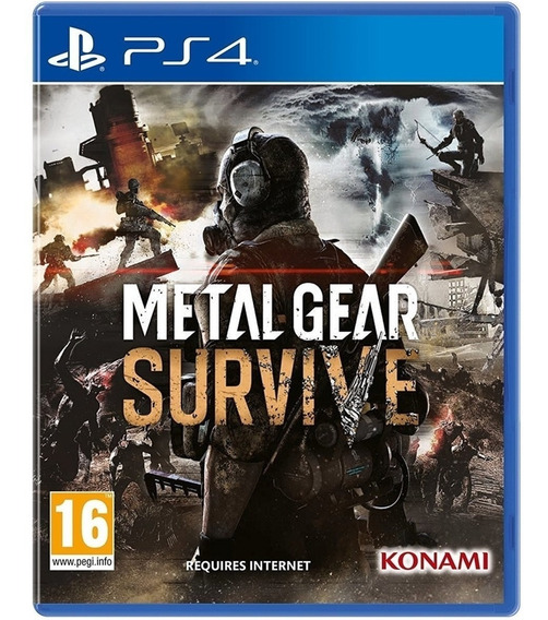 Jogo Metal Gear Survive Ps4 Disco Fisico Lacrado Nacional