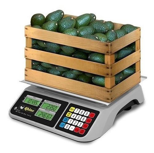 Báscula Digital Rhino Bar-10 60 Kg/ 5g Extra Grande Comprosi