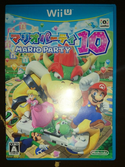 Mario Party 10 Wii U Original Japonês