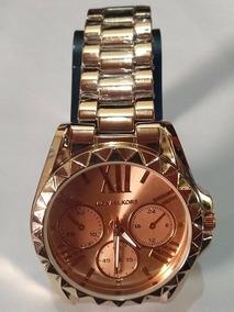 Relógio Feminino Pulseira De Metal F16