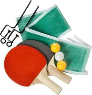Set De Ping Pong Paletas + 3 Pelotas + Red ®