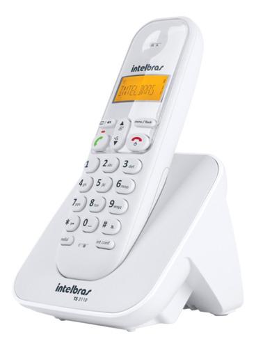 Imagem 1 de 6 de Telefone Ts 3110 Branco Intelbras