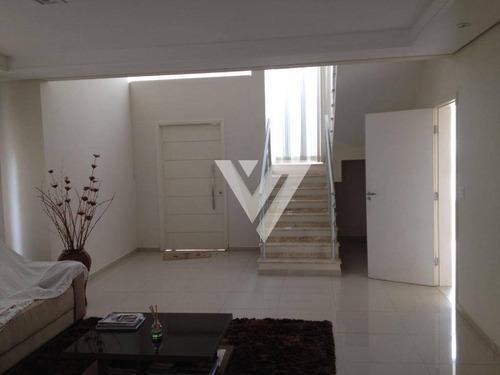 Imagem 1 de 21 de Sobrado Com 3 Dormitórios À Venda, 295 M² Por R$ 1.280.000,00 - Condomínio Mont Blanc - Sorocaba/sp - So1126