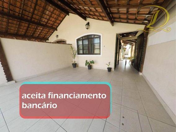 Casa De 02 Quartos Com Suíte, 02 Vagas E Churrasqueira, Aceita Financiamento Bancário!!! - Ca0116