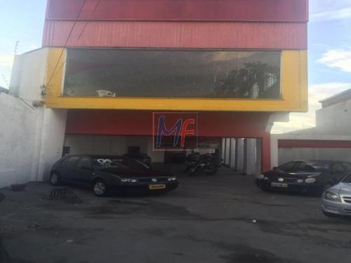 Imagem 1 de 4 de Ref 6254 Excelente Prédio Comercial Na Av. São Miguel, Bairro Vila Norma Com 3 Andares, Amplo Estacionamento, 500 M² , 10 X 50 Metros. - 6254
