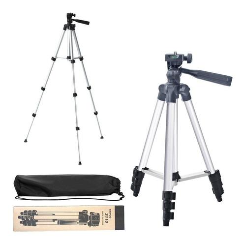 Tripode Camara Reflex Celular Foto Video Plegable Adaptador