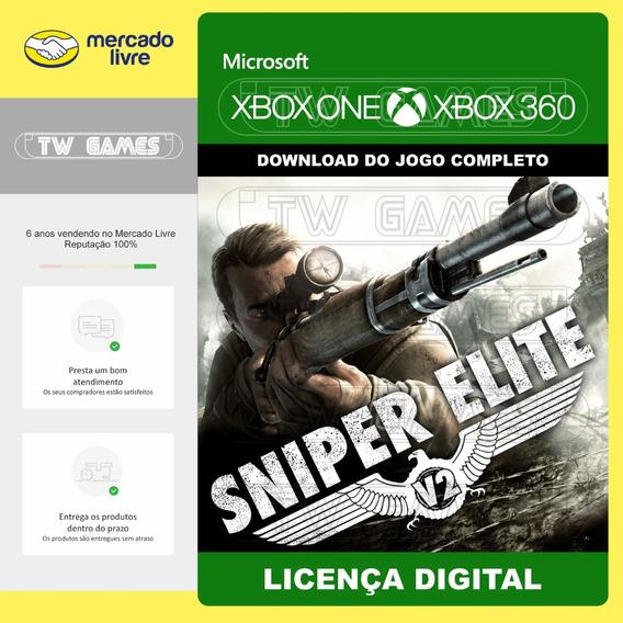 Sniper Elite V2 Digital Retrocompativel Xbox One Xbox 360